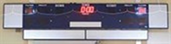 Scoreboard at Idaho IceWorld